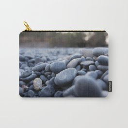 Summertime pebbles in Chios island Carry-All Pouch