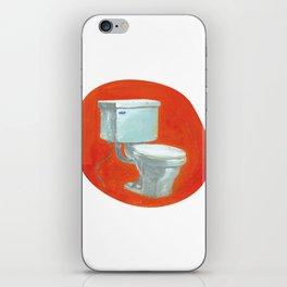 Toilet iPhone Skin