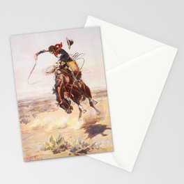 A Bad Hoss Charles Marion Russell Stationery Cards