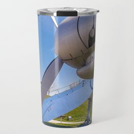 One engine of the Lockheed super constellation Travel Mug