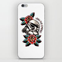 trooper iPhone & iPod Skins featuring Trooper by dcyoungtattooer