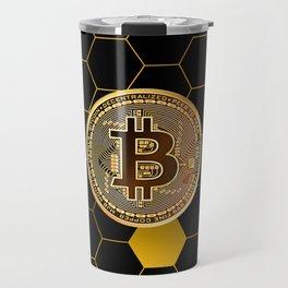 Bitcoin Bee Travel Mug
