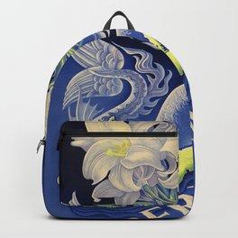 Vintage Mermaid Bermuda Backpack