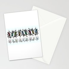 DANCING CATS LINE DANCE Stationery Cards