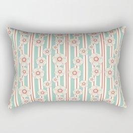 Deco Daisies Rectangular Pillow
