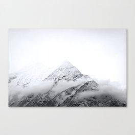 Snowy Mountain Tops // Himalayas // Nepal Canvas Print