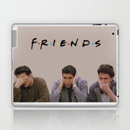 The One with Joey, Ross and Chandler face's. Laptop & iPad Skin