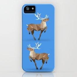Reindeer. (Prancer) iPhone Case