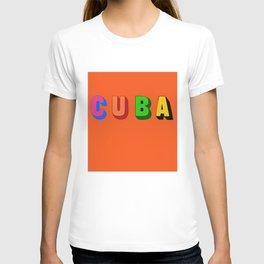 Cuba 3 T-shirt