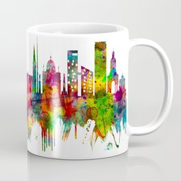Dublin Republic of Ireland Skyline Coffee Mug