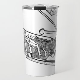 Sign of Bourbon Street  Travel Mug