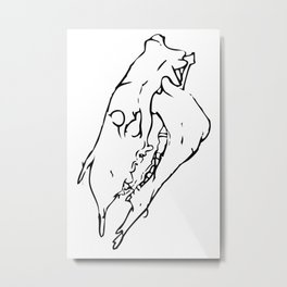 Headstrong Metal Print