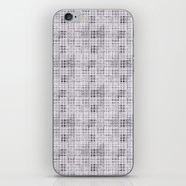 Classical gray cell. iPhone Skin