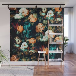 Vintage Floral Wall Mural