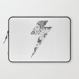 Floral Lightning Laptop Sleeve