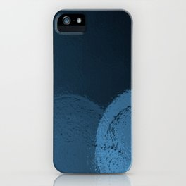 Dark Night Blues iPhone Case