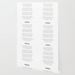 Invictus by William Ernest Henley #minimalist #poem Wallpaper