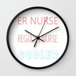 ER Nurse Wall Clock