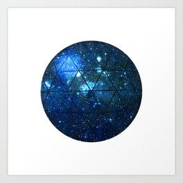 Geodesic VI Art Print