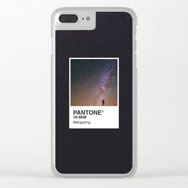 PANTONE SERIES – STARGAZING Clear iPhone Case
