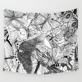 Crowded Wall Tapestry