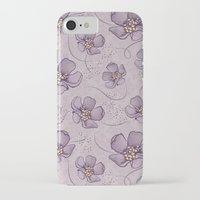 magnolia iPhone & iPod Cases featuring Magnolia by Vickn