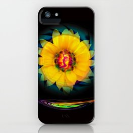 Sunflower Love iPhone Case
