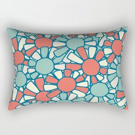 DECO FLOWERS Rectangular Pillow