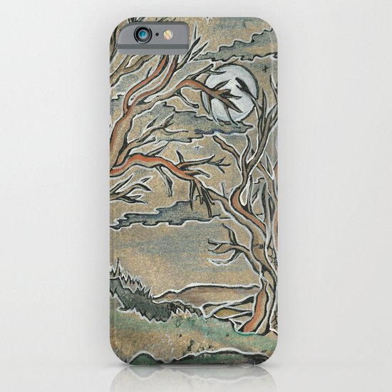 """""""My lonely trees"""" iPhone & iPod Case"""