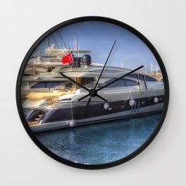 Pershing 90 Yacht Wall Clock
