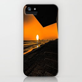 On Golden Tower iPhone Case
