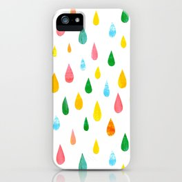 Happy Rain iPhone Case
