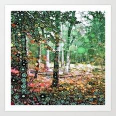 :: Walk in the Woods :: Art Print