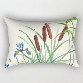 pond-side elegance Rectangular Pillow