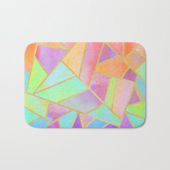 Rainbow Stone Bath Mat
