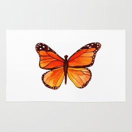 Sunset Butterfly Rug