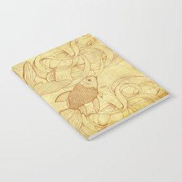 Vintage Goldfishes II Notebook