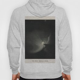 The Trouvelot Astronomical Drawings (1881) - The Great Nebula in Orion, 1875 Hoody