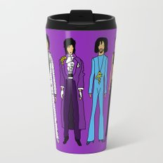 Outfits of Prince Fashion on Purple Travel Mug