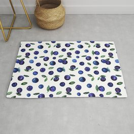 Blueberries Rug