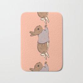 Jumping Bunny Bath Mat