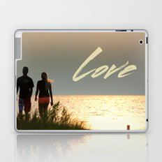 Love at Sunset Laptop & iPad Skin