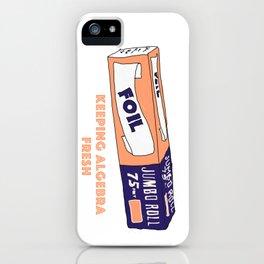 FOIL - Keeping Algebra Fresh iPhone Case