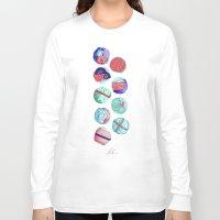 sushi Long Sleeve T-shirts featuring Sushi by Óscar Andrés Berrío