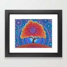 Autumn Blossoms Framed Art Print