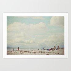 summer days... Art Print