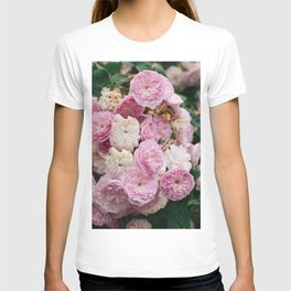The smallest pink roses T-shirt