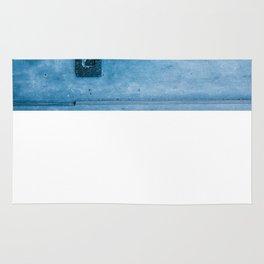 Blue Doorknocker Rug