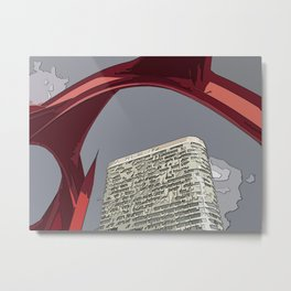 Arche Defense  Metal Print