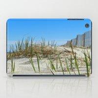 cape cod iPad Cases featuring Cape Cod Dunes by Doreen Calvano Art & Photography